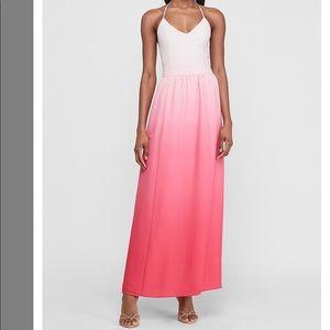 ***BRAND NEW TAGS ON*** EXPRESS Ombré Halter dress